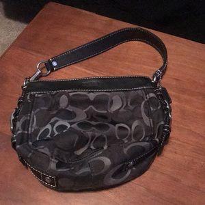 Gently used coach bag
